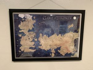 Game of thrones puzzle + banners for Sale in San Jose, CA