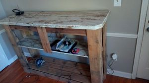 Home made TV stand and matching end tables for Sale in Whitehall, OH