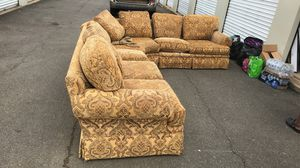 Skirt sectional couch for Sale in Charlottesville, VA