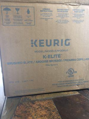 Keurig K-Elite Brushed Slate OBO for Sale in Los Angeles, CA