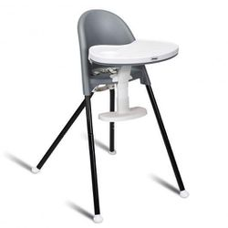 3 in 1 Convertible Highchair with Detachable Double Trays-Gray for Sale in South El Monte,  CA