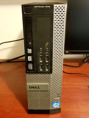DELL OPTIPLEX 7010 SFF DESKTOP COMPUTER - I7, 256GB SSD, 16GB RAM,... PERFECT FOR WORK AT HOME OR STUDENT HOME SCHOOLING & DISTANCE LEARNING for Sale in Fresno, CA