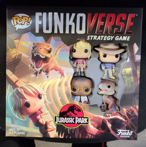 "FUNKO: JURASSIC PARK ""FUNKOVERSE"" (LONDON TOY FAIR EXCLUSIVE) *SEALED/MINT* 🔥 (BUNDLE WITH THE (2) PIECE)!! for Sale in Philadelphia, PA"