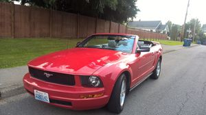 2006 Ford Mustang red convertible for Sale in Everett, WA