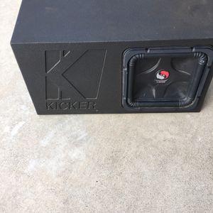 Solo Baric Kicker Woofer In Kicker Boom Box for Sale in Carson, CA