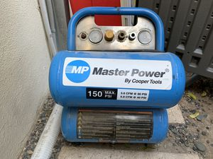 Twin cylinder air compressor for Sale in Newport Beach, CA