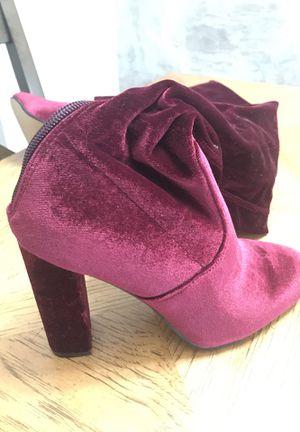 Boots knees. Sizes 5 1/2 . Also. Velvet. Burgundy. New for Sale in Deltona, FL