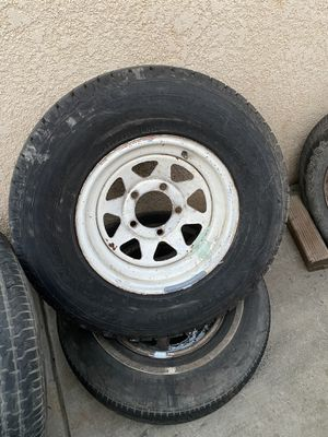 67-79 Ford wheels dodge ram or f100 f150 ranger for Sale in Orange Cove, CA