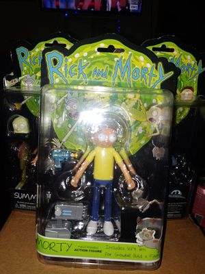 Rick and Morty action figures lot of 3 by Funko for Sale in Seattle, WA