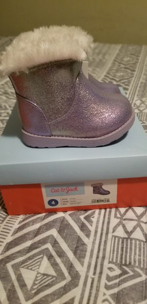 Toddler Girls' Oriole Ankle Fashion Boots - Cat & Jack™ for Sale in Charlotte, NC