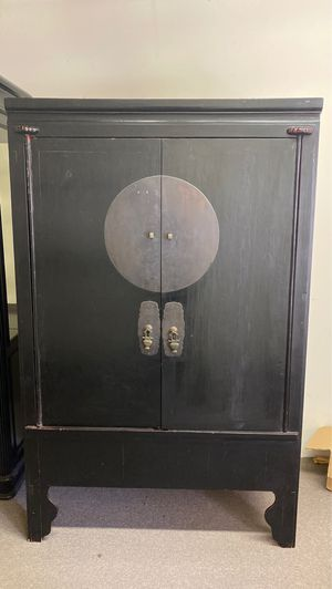 19th Century Antique Q'ing Dynasty Wedding Cabinet for Sale in Alameda, CA