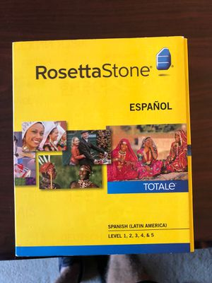 Rosetta Stone - Spanish for Sale in Round Rock, TX