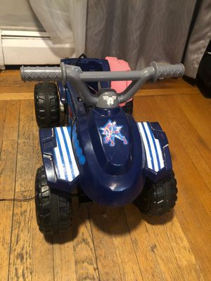 Captain America electric quad still works, with charger for Sale in Warwick, RI
