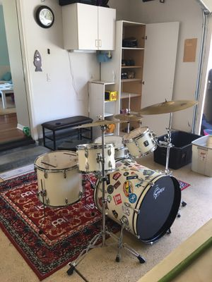 GRETSCH ENERGY 5 piece Drum Set OBO for Sale in Carlsbad, CA