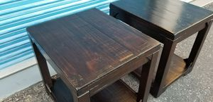 2 Ashley Furniture brand Rogness end tables. Model T745-3. for Sale in Phoenix, AZ
