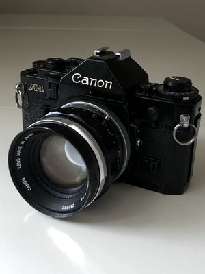 Canon A-1 film camera with 50mm lens for Sale in New York, NY