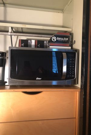 Microwave & Keurig (with coffee K-cups) for sale for Sale in Dunkirk, NY