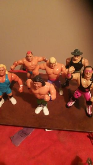 Hasbro 1991 wwf collection action figures for Sale in Wichita, KS