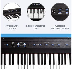 Alesis Recital | 88 Key Beginner Digital Piano / Keyboard with Full Size Semi Weighted Keys for Sale in Norcross, GA