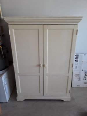 Cabinet with home decor items ** read listing for Sale in Buda, TX