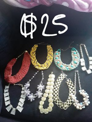 GREAT CHRISTMAS GIFTS...new & gently used necklace bundle for Sale in Suitland, MD
