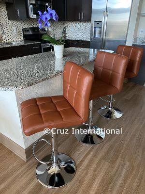 New 3 caramel stools for Sale in Orlando, FL