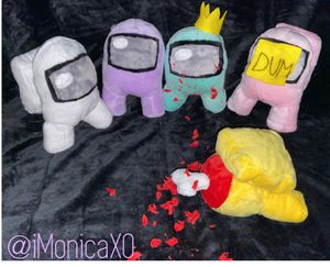 Handmade Among Us Plushie for Sale in Palmetto, GA