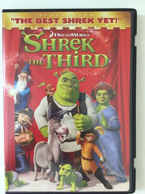 Dreamworks Shrek the Third DVD, pick up in San Marcos for Sale in San Marcos, CA