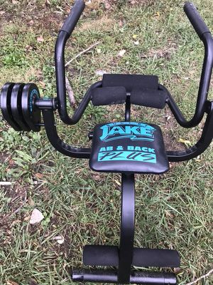 Jake Ab&b back plus Exerciser for Sale in St. Louis, MO