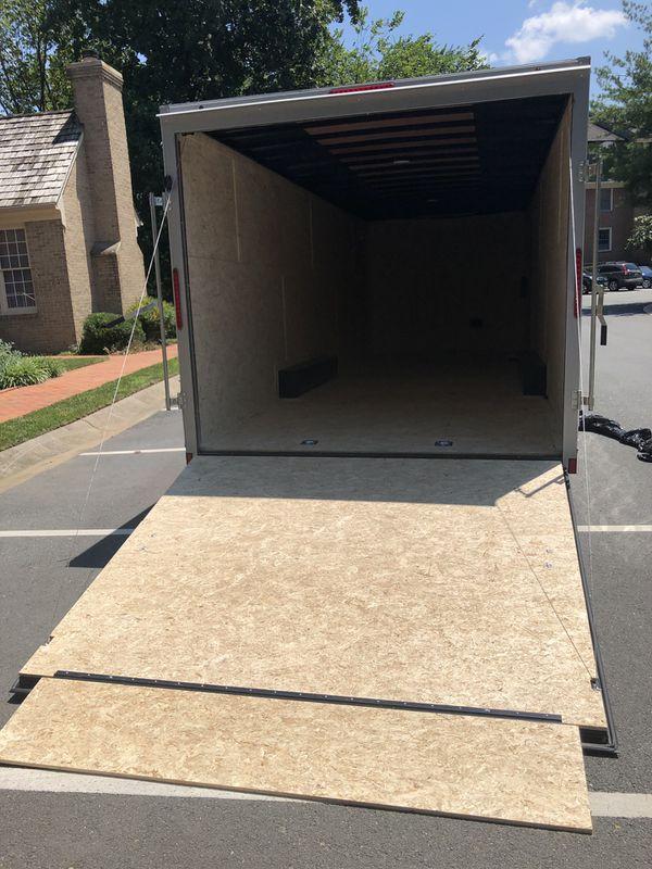 24' enclosed cargo trailer