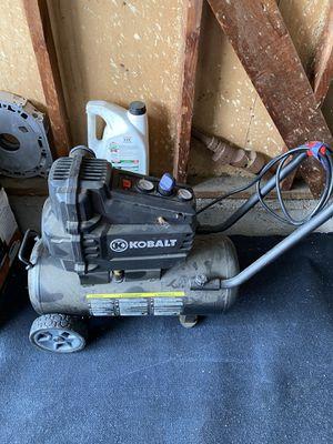 Portable Air Compressor 8 Gallon Kobalt (broken) for Sale in Anaheim, CA