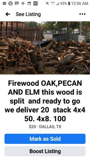 SPLIT OAK & PECAN, ELM for Sale in Dallas, TX