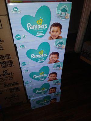 Wipes marca pampers trae 1152 cambio por formula de 12 0z. $30 cada caja for Sale in Los Angeles, CA