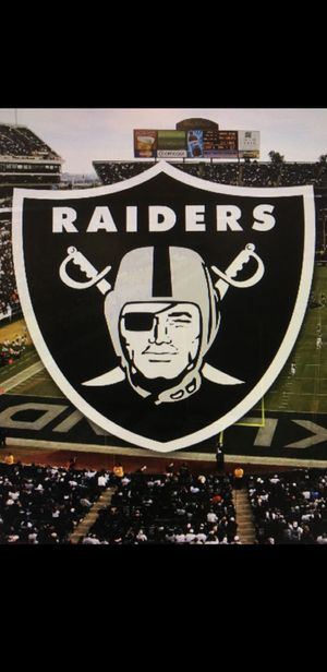 Raider tickets for Sale in Gilroy, CA
