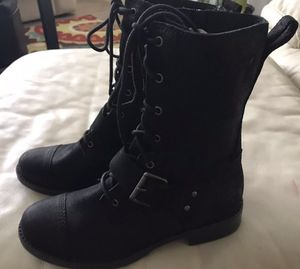 NEW UGGS women's Marela size 6 M combat suede black for Sale in Tampa, FL
