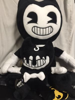 Bendy and the ink machine plushies for Sale in Ontario, CA