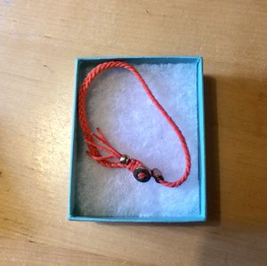Orange Bracelet, Adjustable, Perfect on it's own or in a combo for Sale in Austin, TX