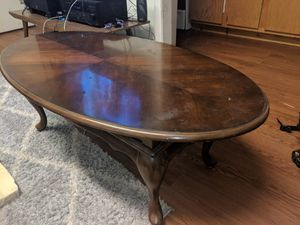 Hardwood coffee table for Sale in Baltimore, MD