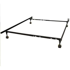 Bed frame twin full queen wide casters for Sale in Canton, MI