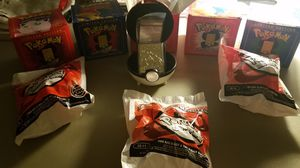 Pokemon Gold Card Balls w/three Charizards for Sale in Washougal, WA