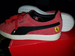 Brand New Red & Black size 8 1/2 Puma Suede Ferrari Edition for Sale in Cleveland, OH