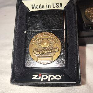 Harley Davidson Motorcyclist EVOLUTION Zippo Lighter for Sale in Bridgeport, CT
