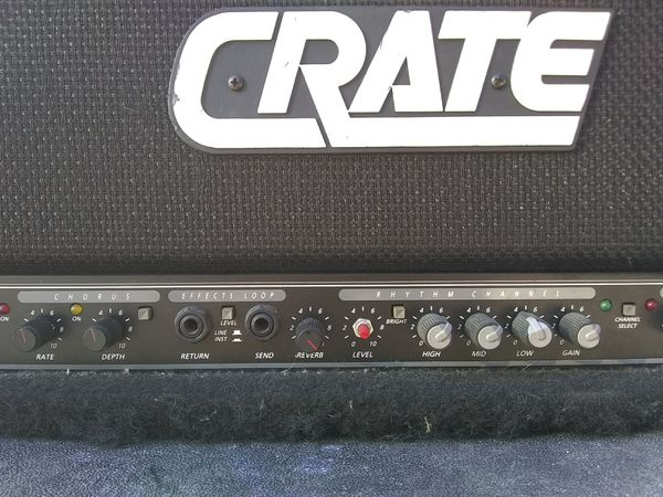 Crate GX-130c Amp Head    Great Condition!! Barely Used! for Sale in  Austin, TX - OfferUp
