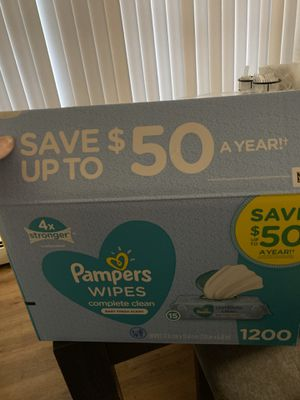Pampers wipes fresh scent for Sale in Chicago, IL