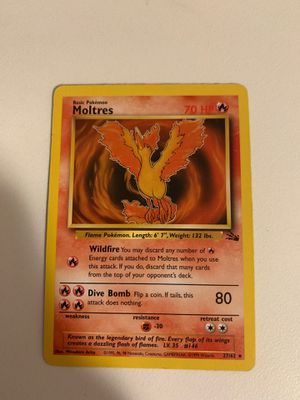 Pokemon cards - moltres for Sale in Phoenix, AZ