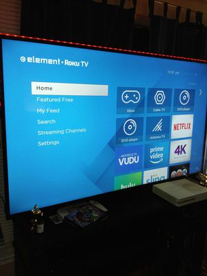 new 70inch smart tv. 4k. With L.E.D lights. It's a difference between a regular 70inch . Paid 1100. Knocking off half the price. no deals. for Sale in Manassas, VA