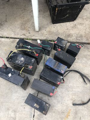 Free rechargeable batteries Free for Sale in La Puente, CA