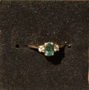 Tiffany emerald and diamond ring for Sale in Tempe, AZ