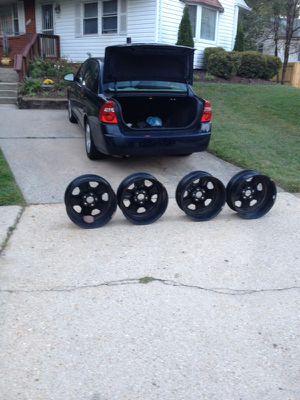 2013 LS o e m 18 inch Matt black Chevy camaro Car rims for Sale in Alexandria, VA