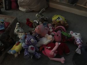 Lot of random plushies for Sale in Severn, MD
